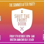 Shut The Front Door London: The Summer After Party w/ Zimmer, Darius, Oliver Nelson, Tobtok, LeMarquis (live), jackLNDN & Ronika (live)